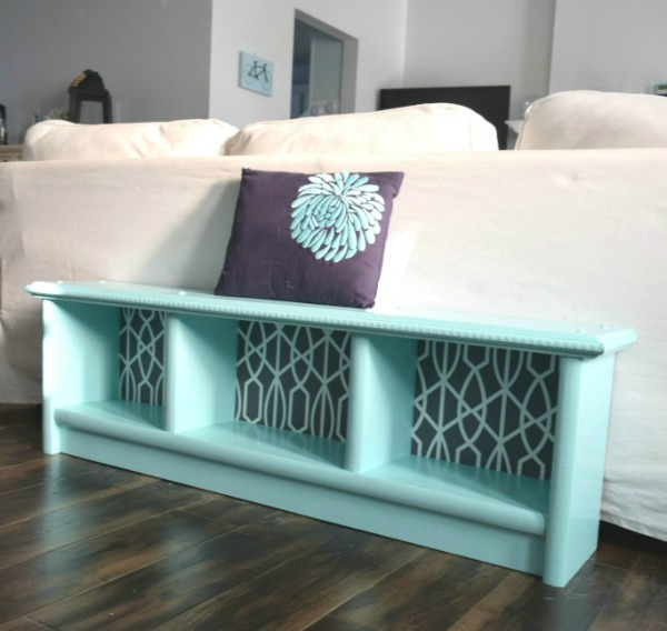 How to Update a Bench Beautfully   Upcycled & Repurosed Thrift Store Makeovers