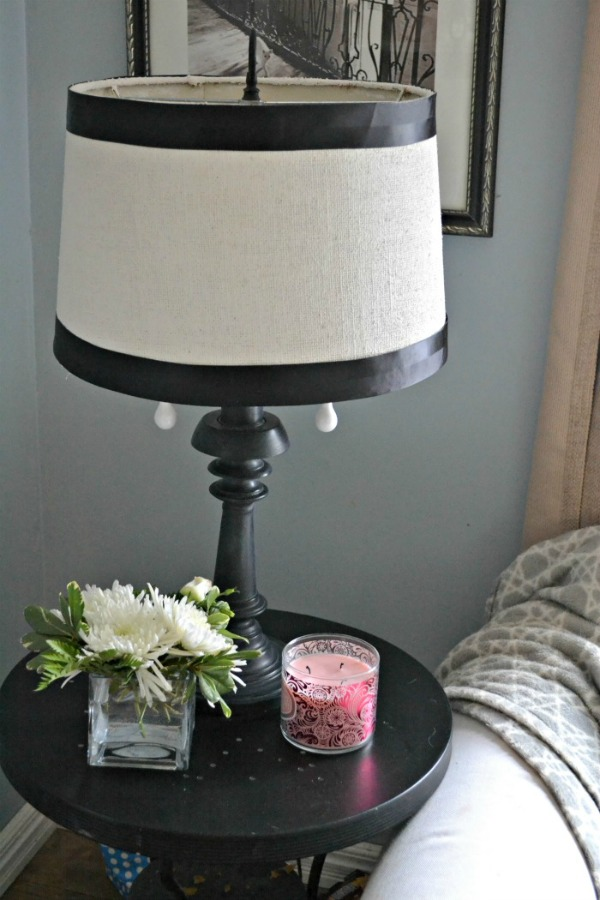 How to Update a Thrift Store Lamp and Shade | Upcycled & Repurosed Thrift Store Makeovers