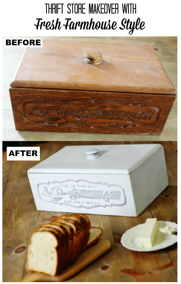 How to easily update your vintage decor with fresh farmhouse style | www.knickoftime.net