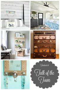 Featured projects at Talk of the Town Link Party at Knick of Time   www.knickoftime.net