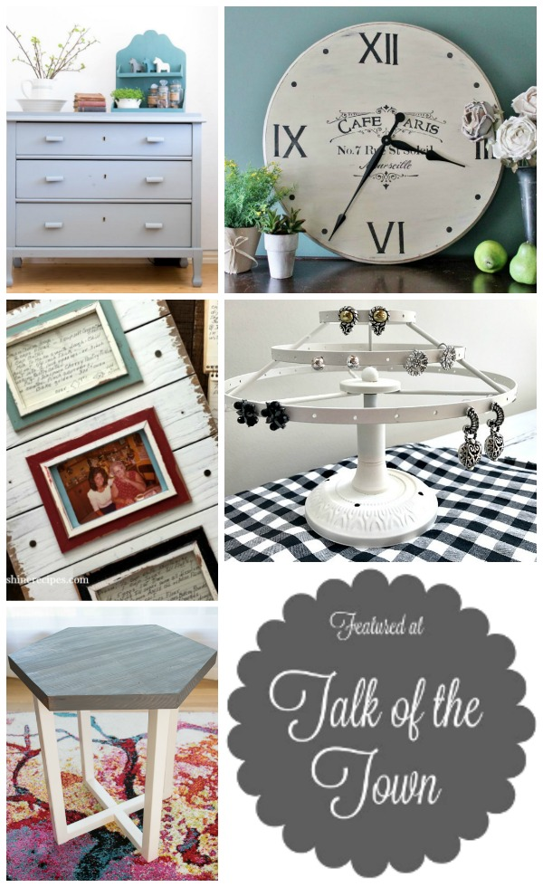 featured projects at Talk of the Town link party | www.knickoftime.net