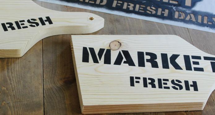 How to make a wooden farmer's market storage kitchen tote | www.knickoftime.net
