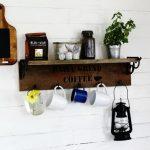 Vintage Cutting Board Kitchen Chalk Board