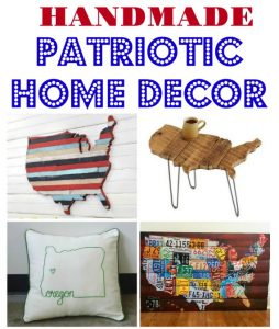 Handmade United States Patriotic Decor | Creative Ideas from Sea to Shining Sea!