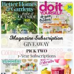 June Giveaway | Choice of 2 Magazine Subscriptions