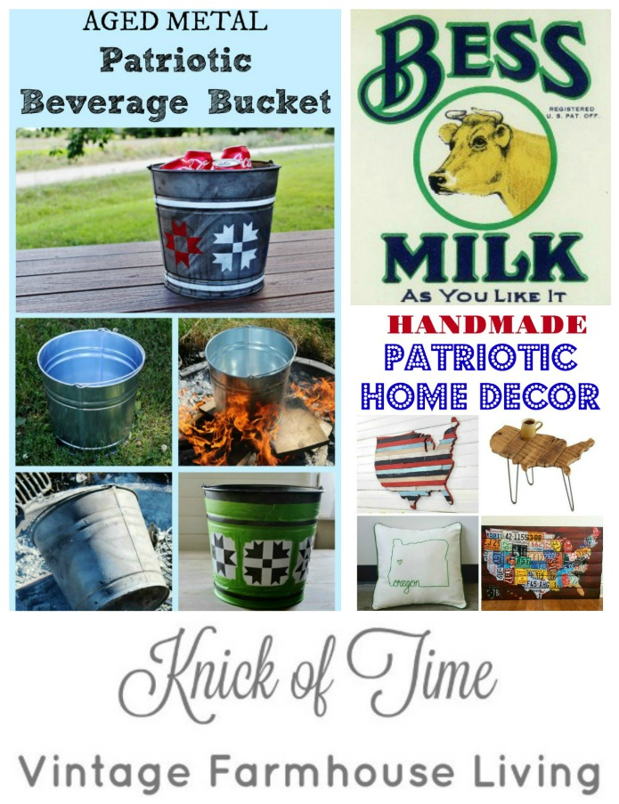 Knick of Time Vintage Farmhouse Living | www.knickoftime.net