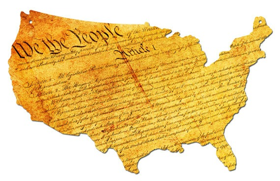 United States Constitution Graphic Wall Art