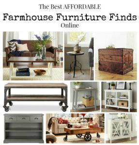The Best Affordable Farmhouse Furniture Finds Online | www.knickoftime.net