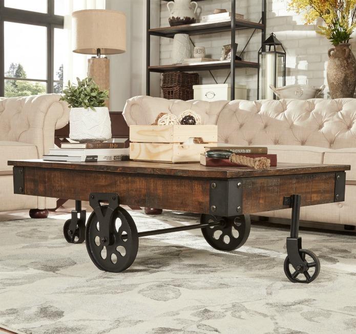 the best affordable farmhouse furniture finds knick of time. Black Bedroom Furniture Sets. Home Design Ideas