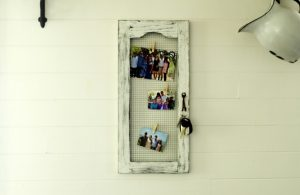 How to repurpose a Craigslist cabinet into farmhouse style magnet board | www.knickoftime.net