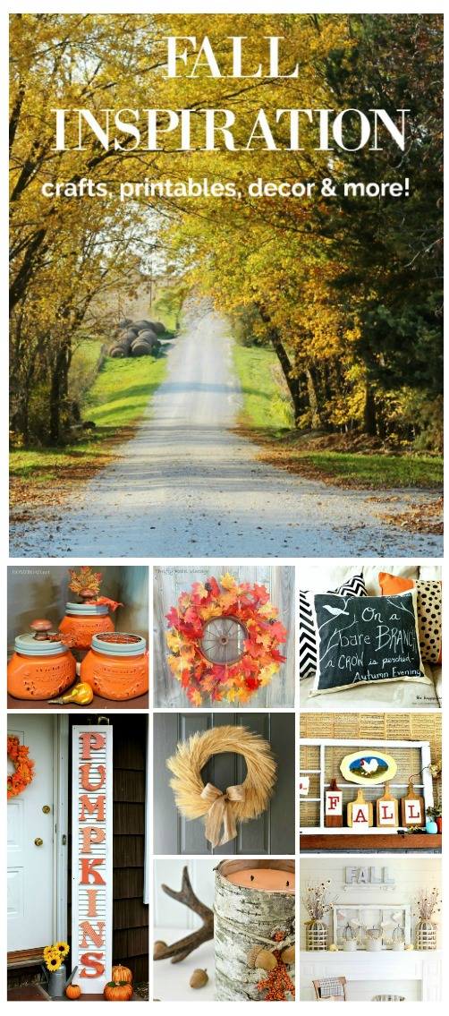 DIY Fall Home Decor, Crafts and Printables | www.knickoftime.net