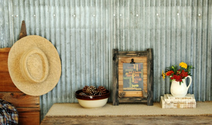 How to make a rustic photo clipboard | www.knickoftime.net