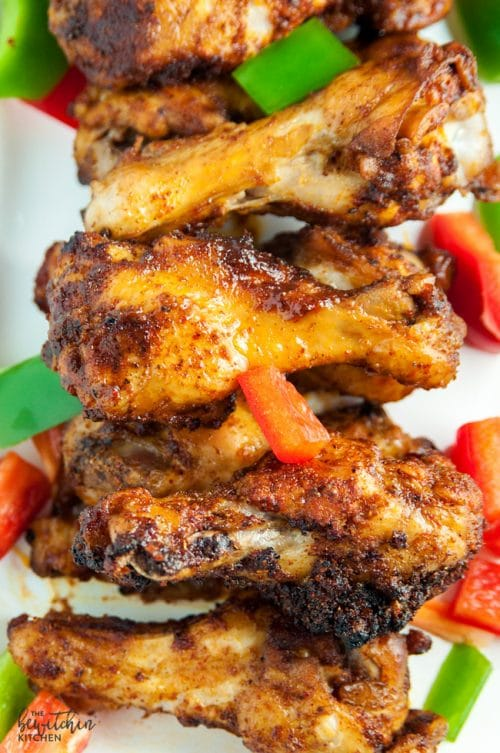 Whole 30 Fajita Chicken wings by The Bewitchen Kitchen, featured at Knick of Time