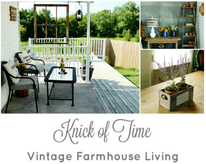 This week at Knick of Time Vintage Farmhouse Living blog | www.knickoftime.net