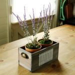 Fake It Til You Grow It | Aromatherapy Faux Lavender Scented Centerpiece