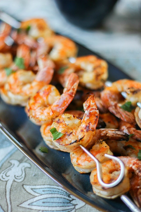Shrimp on the Barbie featured at Talk of the Town at Knick of Time