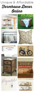 Unique affordable farmhouse decor online