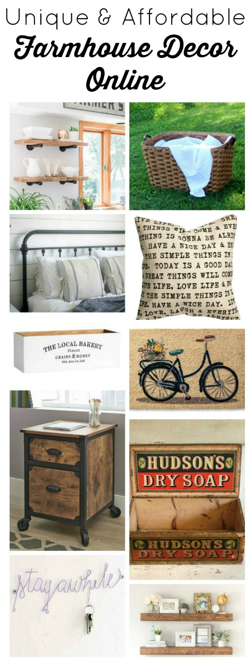 Unique and Affordable Farmhouse Decor Online | www.knickoftime.net