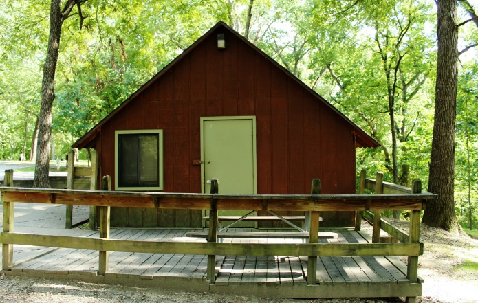 Rent a camping cabin for the perfect weekend getaway in the great outdoors! | www.knickoftime.net