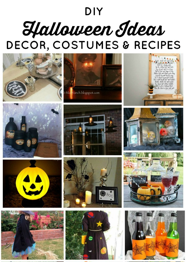15+ Easy DIY Halloween Ideas Ideas For Kids & Adults! | www.knickoftime.net