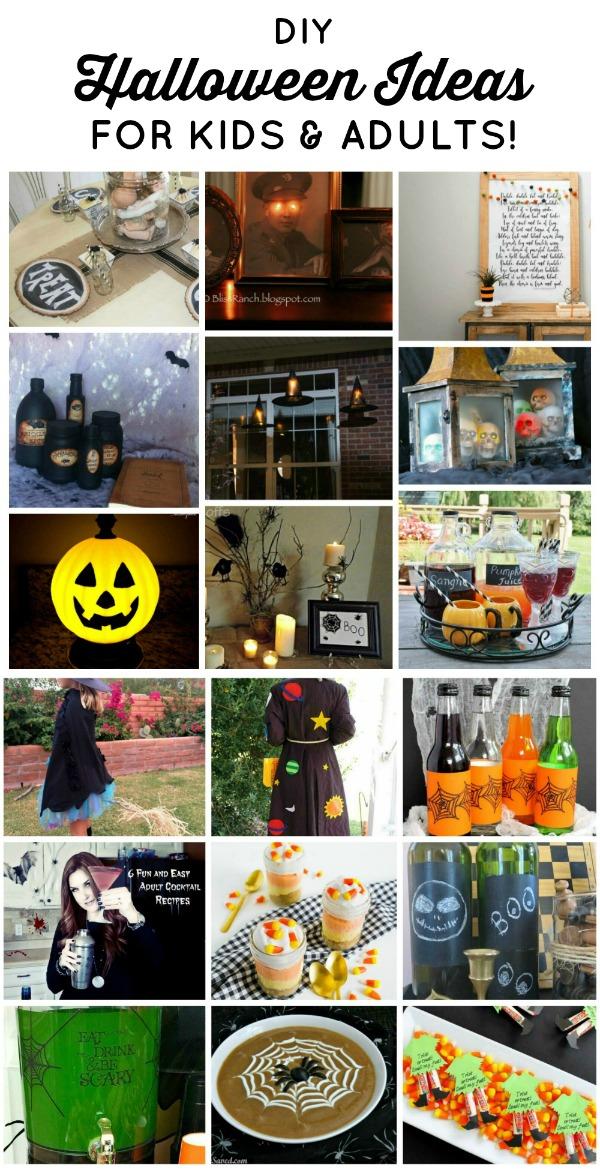 DIY Halloween Decor, Costumes, Crafts, & Recipes | www.knickoftime.net
