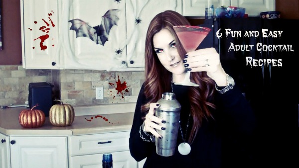 Halloween Adult Cocktails by Pretty Extraordinary