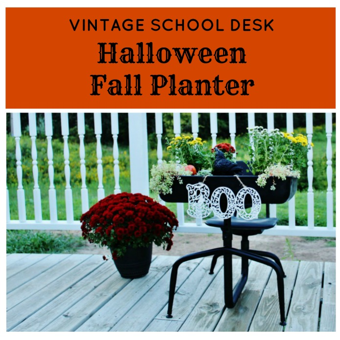 Halloween Fall Porch Planter | www.knickoftime.net