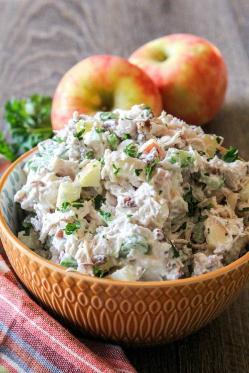 Apple Pecan Chicken Salad by The Chef Next Door