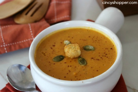 Copycat Panera Autumn Squash Soup by Cincy Shopper