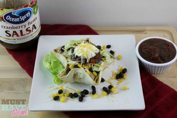 Cranberry Fiesta Taco Bowls Recipe by Must Have Mom