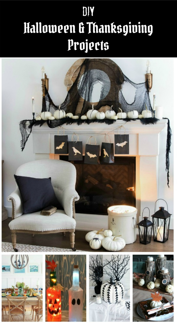 DIY Halloween and Thanksgiving Decor featured at Knick of Time | www.knickoftime.net