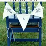 How to Make Custom Canvas Wedding Banners