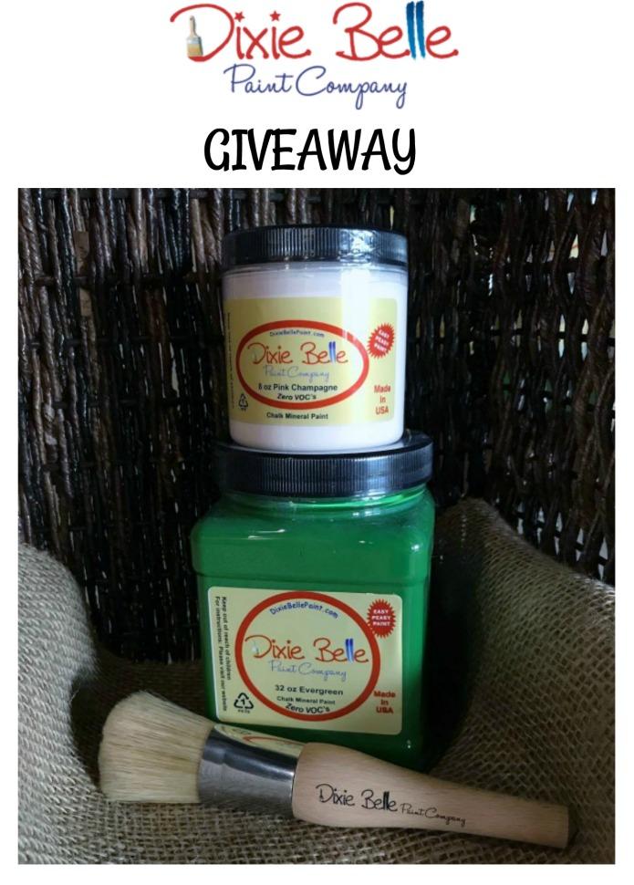Dixie Belle Paint Company Giveaway | www.knickoftime.net