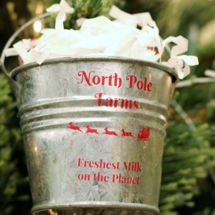 The cutest little DIY farmhouse Christmas Ornament straight from the North Pole! | www.knickoftime.net