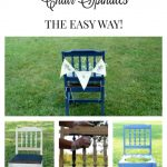 How to Paint Chair Spindles the Easy Way