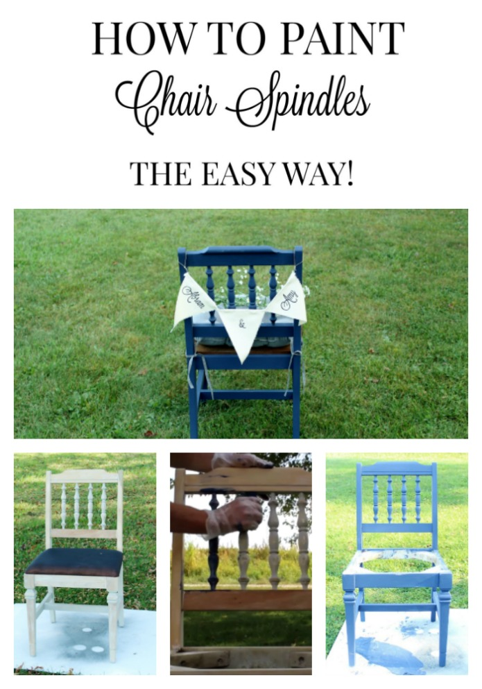 How To Paint Furniture Spindles The Easy Way! | Www.knickoftime.net
