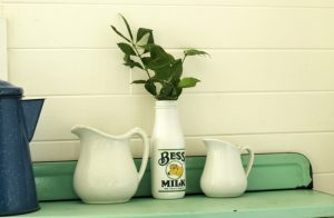 Easy DIY Farmhouse Style Milk Bottle