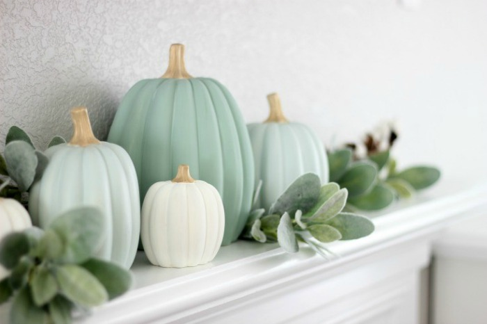 Make Your Own Painted Pumpkins by
