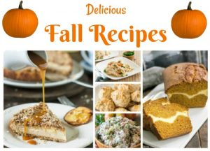 Mouth Watering Fall Recipes: Deserts, Side Dishes,and Main Dishes featured at Knick of Time | www.knickoftime.net