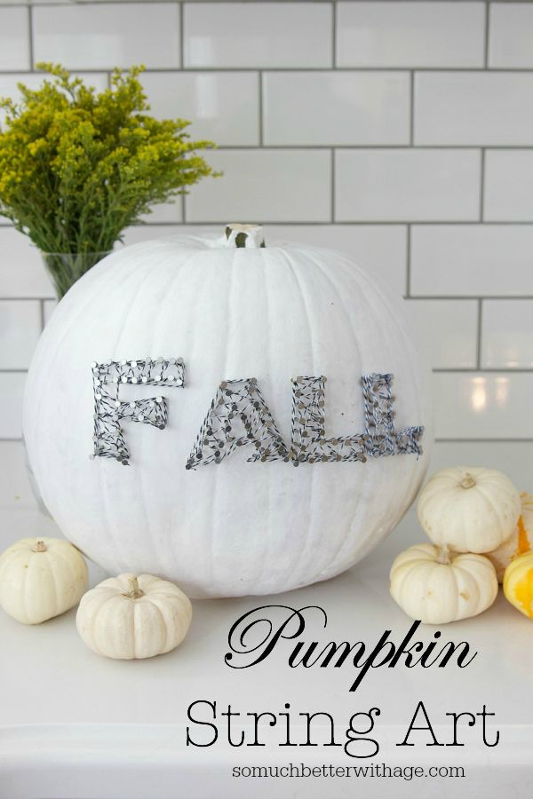 Pumpkin String Art by So Much Better with Age