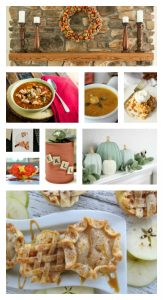 Fall Decor and Recipes featured at Knick of Time | www.knickoftime.net