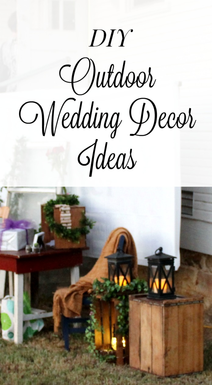 DIY inexpensive wedding reception decor ideas | www.knickoftime.net