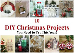 10 DIY Christmas Projects You Need to Try This Year! www.knickoftime.net