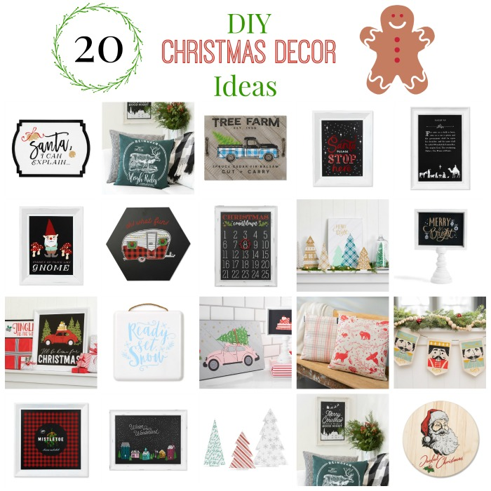 20 DIY Christmas Project Decor and Gift Ideas