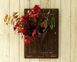 Farmhouse Vintage Funnel Fall Door Wreath