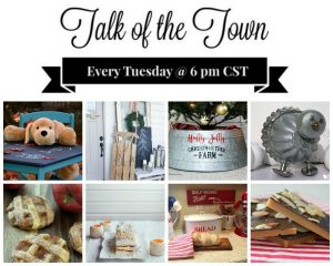 Featured at Talk of the Town at Knick of Time | www.knickoftime.net