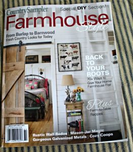 Country Sampler Farmhouse Style magazine
