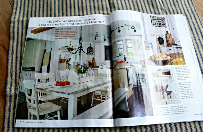 Farmhouse 5540 feature in Farmhouse Style magazine