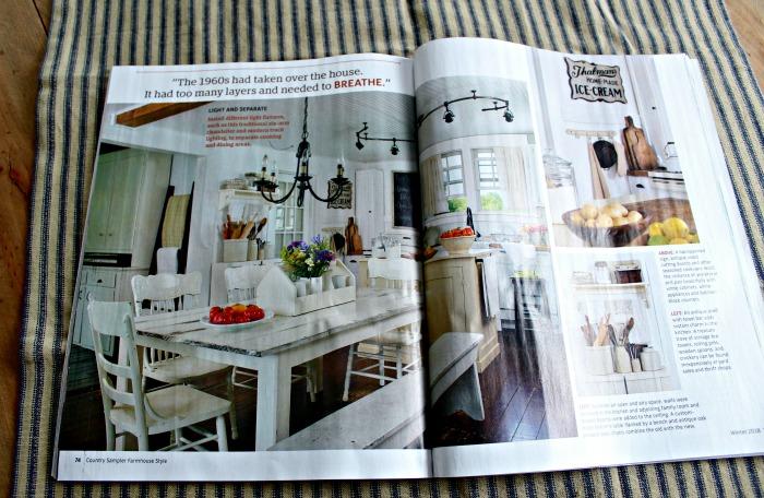 Farmhouse 5540 feature in Farmhouse Style magazine