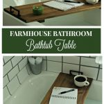 DIY Bathtub Tray Table: Bathroom Remodel Project